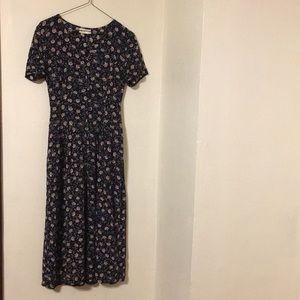 BHS sunflower 90s vibe dress